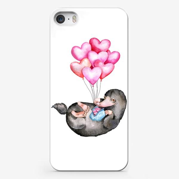 Чехол iPhone «i love you»