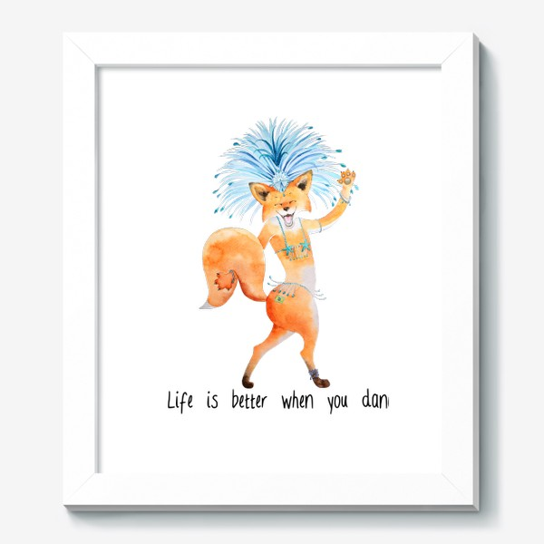 Картина «Life is better when you dance»