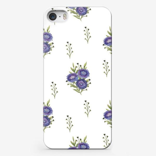 Чехол iPhone «Васильки»