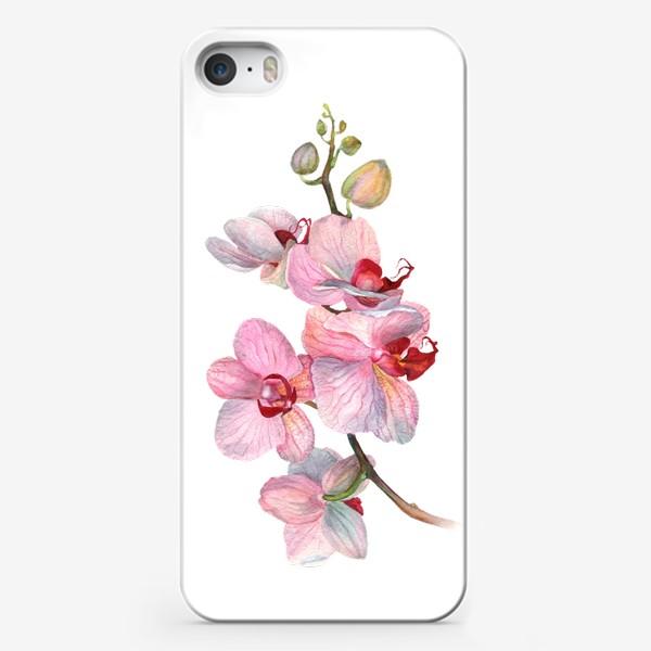 Чехол iPhone «ВЕТОЧКА ОРХИДЕИ»