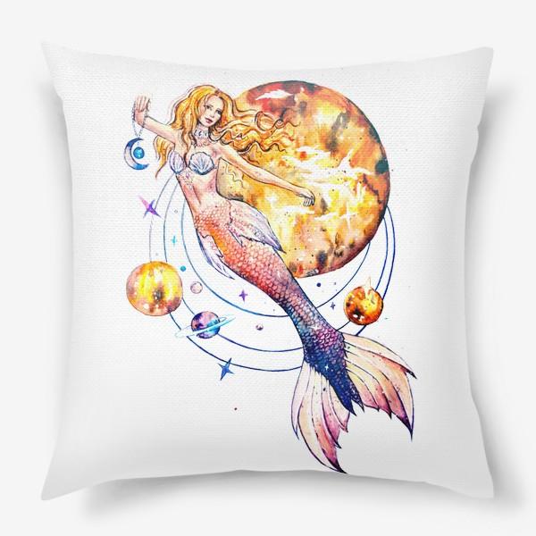 Подушка «повелительница планет»