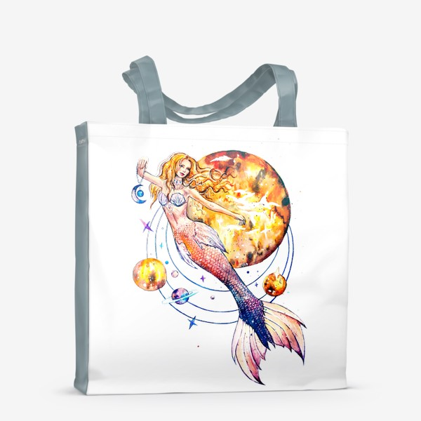 Сумка-шоппер «повелительница планет»