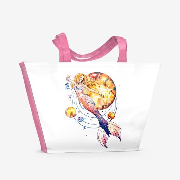 Пляжная сумка «повелительница планет»