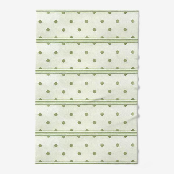 Полотенце «Прованс. Зеленый горошек»