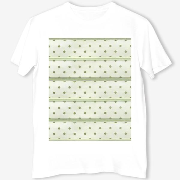 Футболка «Прованс. Зеленый горошек»