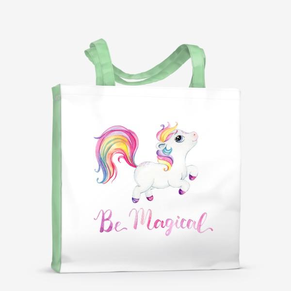 Сумка-шоппер «Be Magical like unicorn»