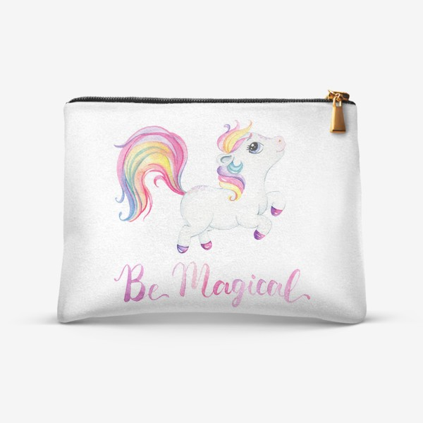 Косметичка «Be Magical like unicorn»