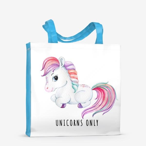 Сумка-шоппер «Unicorns only»