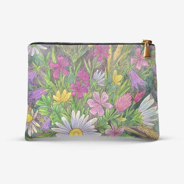 Косметичка «Букет полевых цветов»