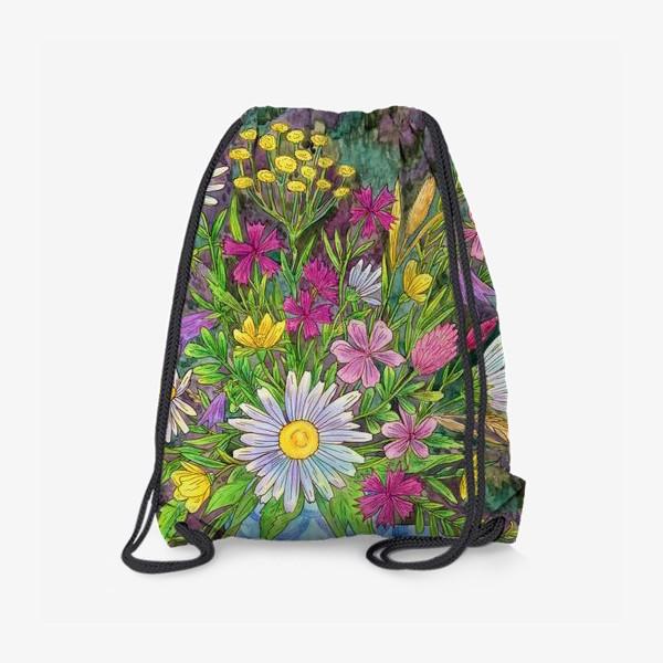 Рюкзак «Букет полевых цветов»