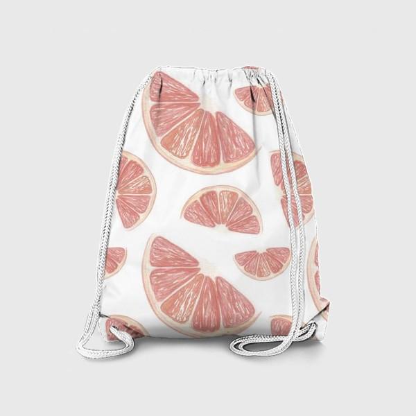Рюкзак «Паттерн с грейпфрутами»