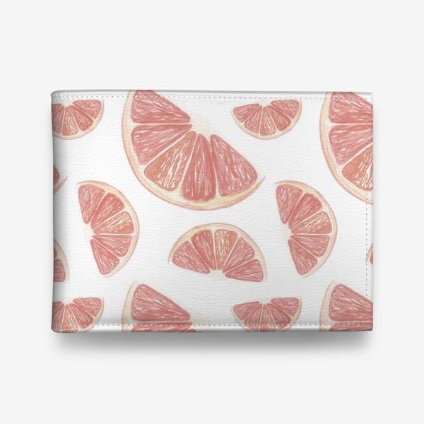 Кошелек «Паттерн с грейпфрутами»