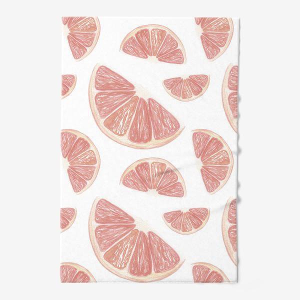 Полотенце «Паттерн с грейпфрутами»
