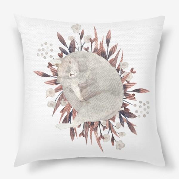 Подушка «Сон кота»