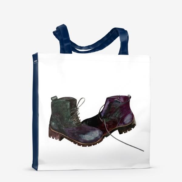 Сумка-шоппер «Ботинки»