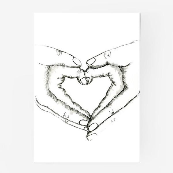 Постер «Ручное сердце»