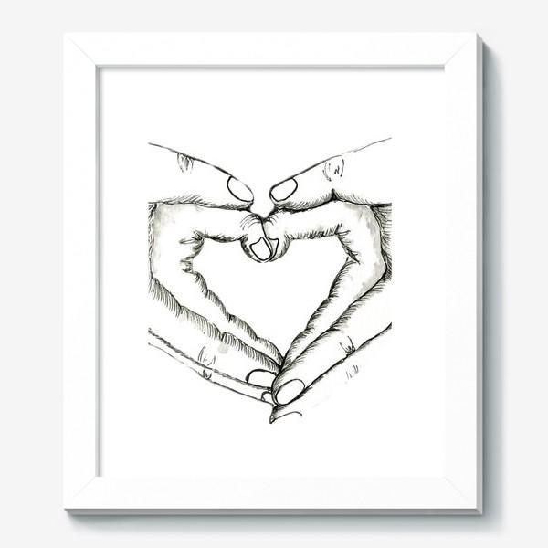 Картина «Ручное сердце»