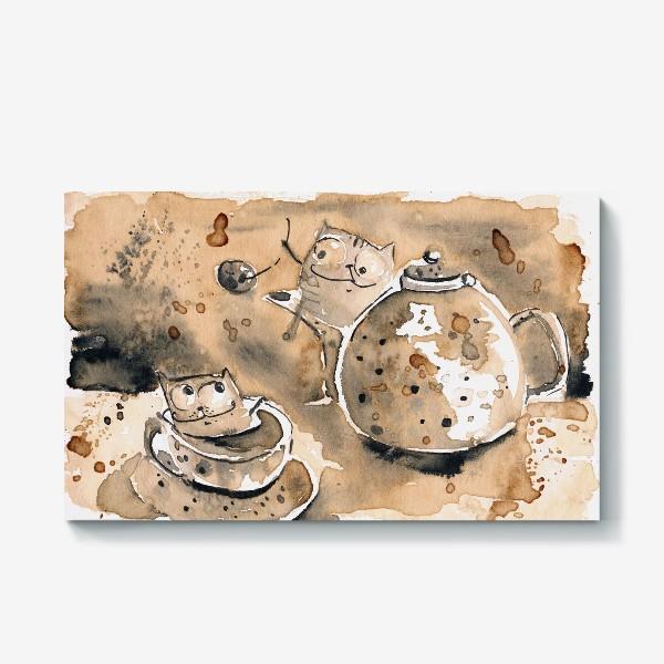 Холст «Кофе пауза»