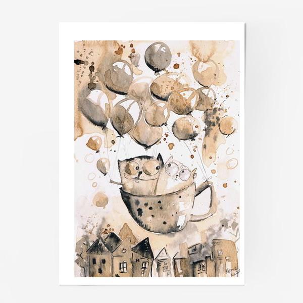 Постер «Кофейная любовь»