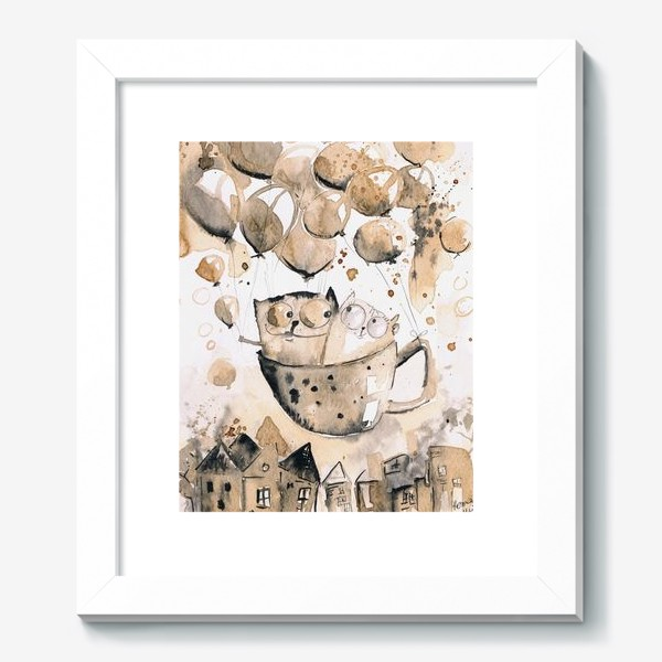 Картина «Кофейная любовь»