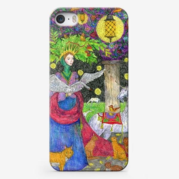 Чехол iPhone «Лесная фея»