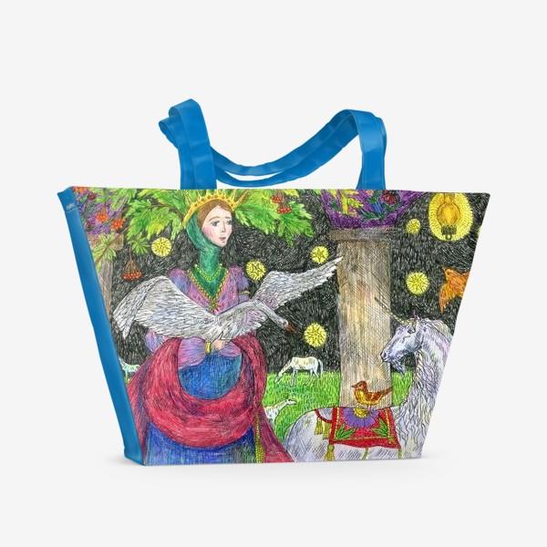 Пляжная сумка «Лесная фея»