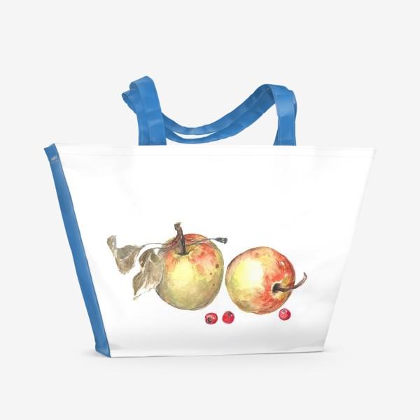 Пляжная сумка «осенний урожай»