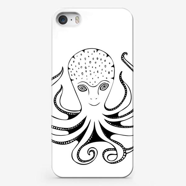 Чехол iPhone «Счастливый Осьминог»