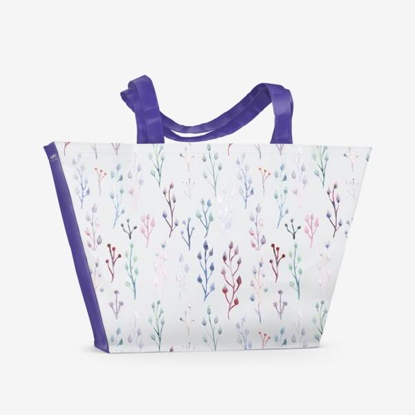 Пляжная сумка «Акварель»