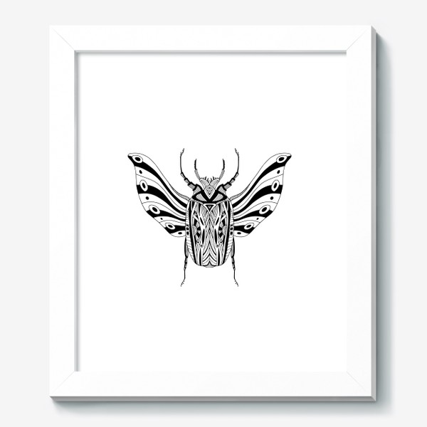Картина «Богемный жук. Скарабей»