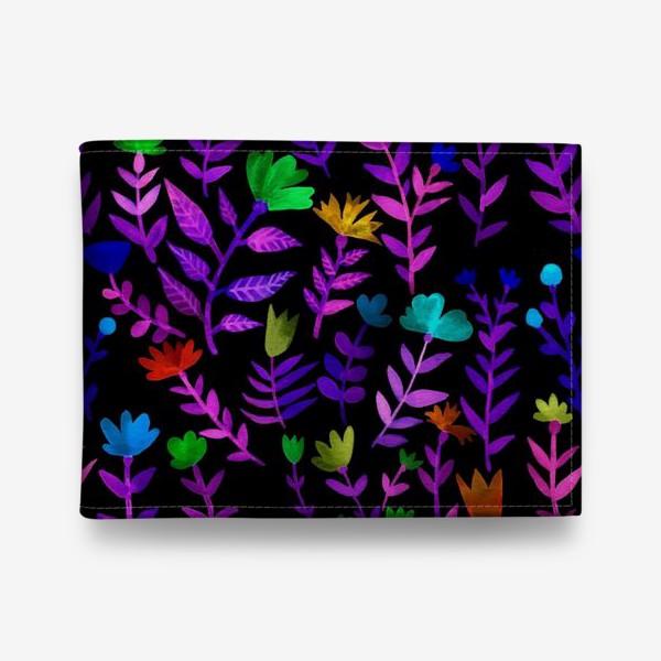 Кошелек «Цветочный узор»