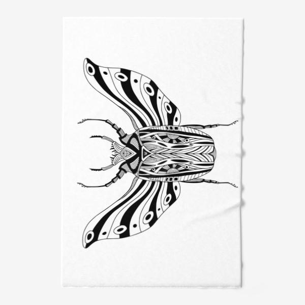 Полотенце «Богемный жук. Скарабей»
