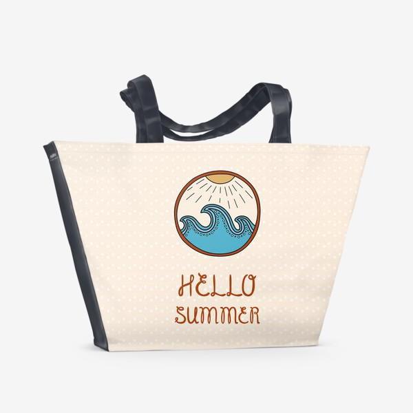 Пляжная сумка «Hello summer_4»