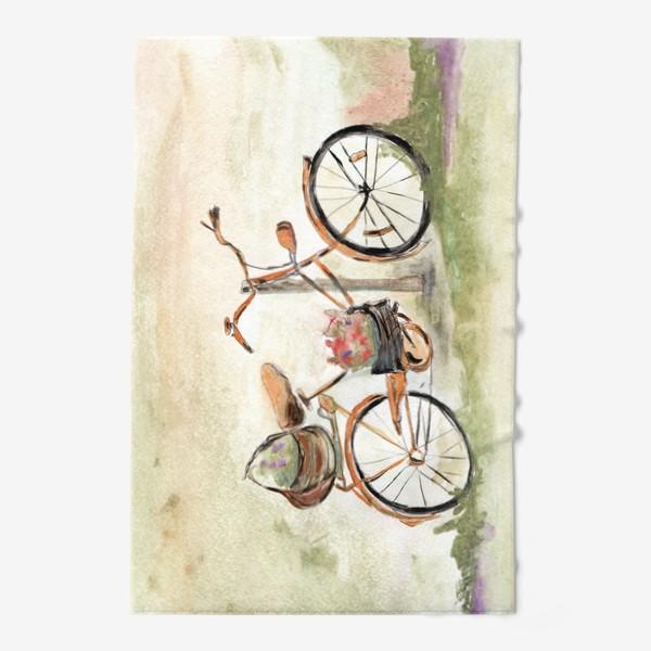 Полотенце «Велосипед. Лето. Счастье быть собой.»