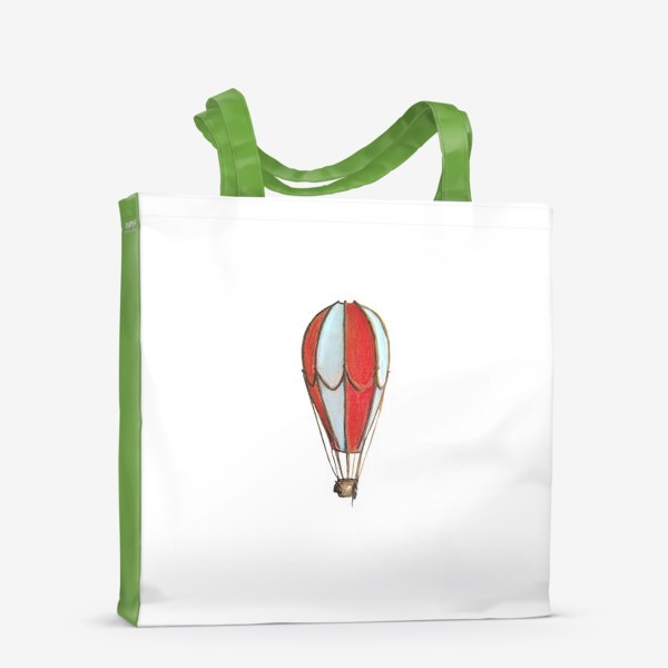 Сумка-шоппер «Воздушный шар Винтаж Минимализм»