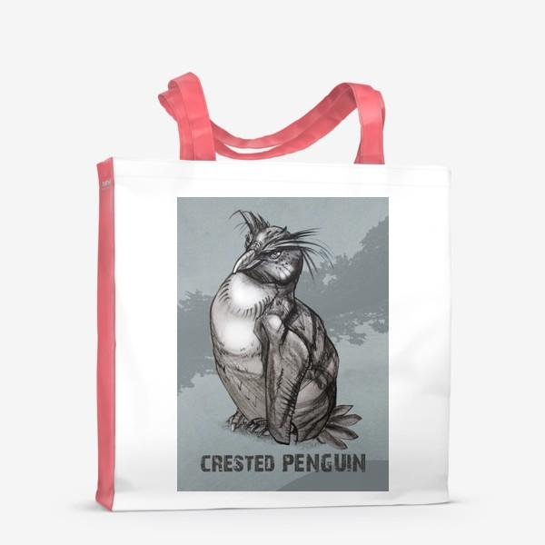 Сумка-шоппер «Хохлатый пингвин»