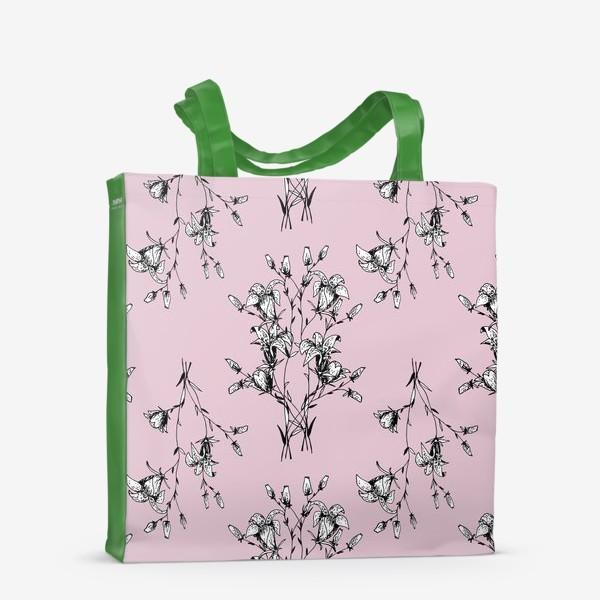 Сумка-шоппер «Лесной колокольчик»