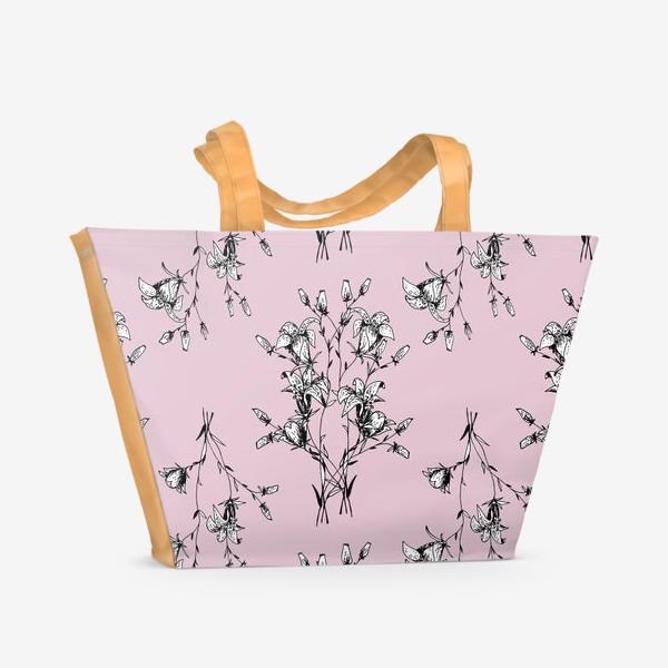 Пляжная сумка «Лесной колокольчик»