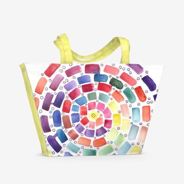 Пляжная сумка «Спираль»
