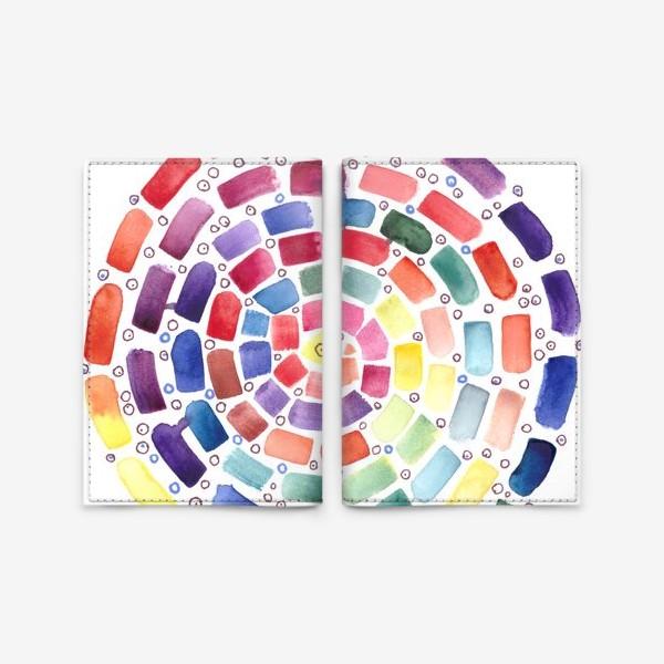 Обложка для паспорта «Спираль»