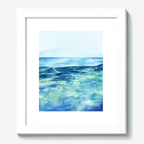 Картина «Акварельное море»