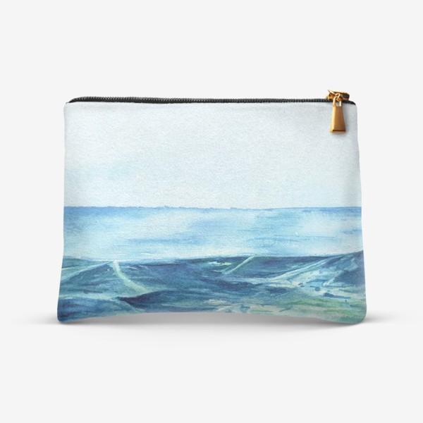 Косметичка «Акварельное море»