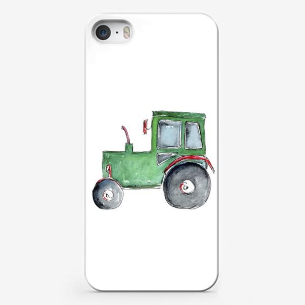 Чехол iPhone «Трактор. Для настоящих успехов.»