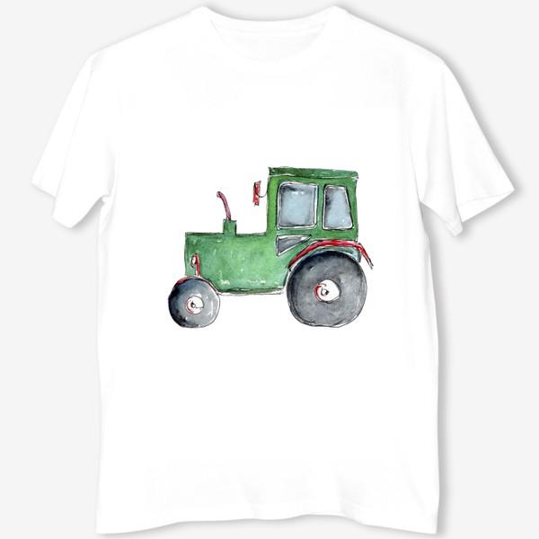 Футболка «Трактор. Для настоящих успехов.»