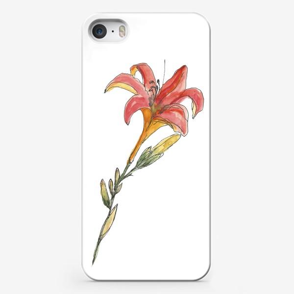 Чехол iPhone «Лилия»