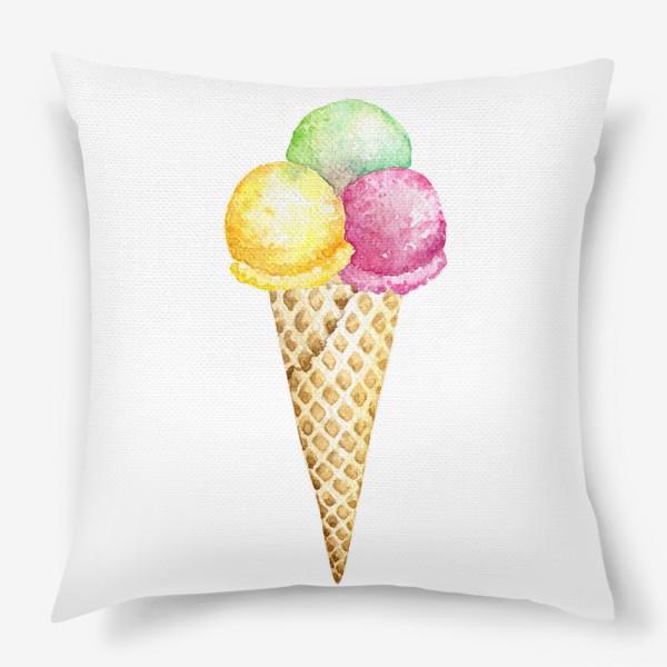 Подушка «Мороженое»