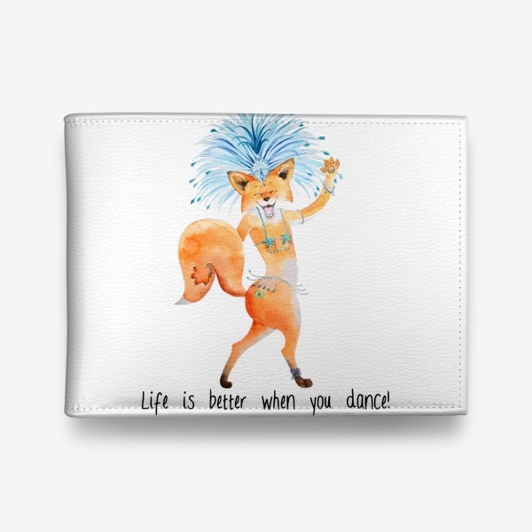 Кошелек «Life is better when you dance»