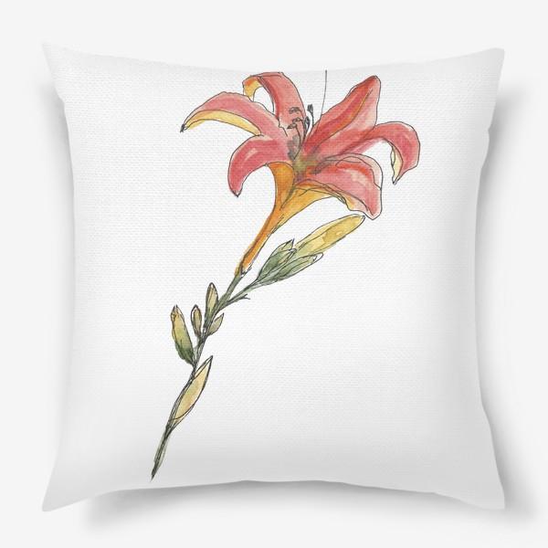 Подушка «Лилия»