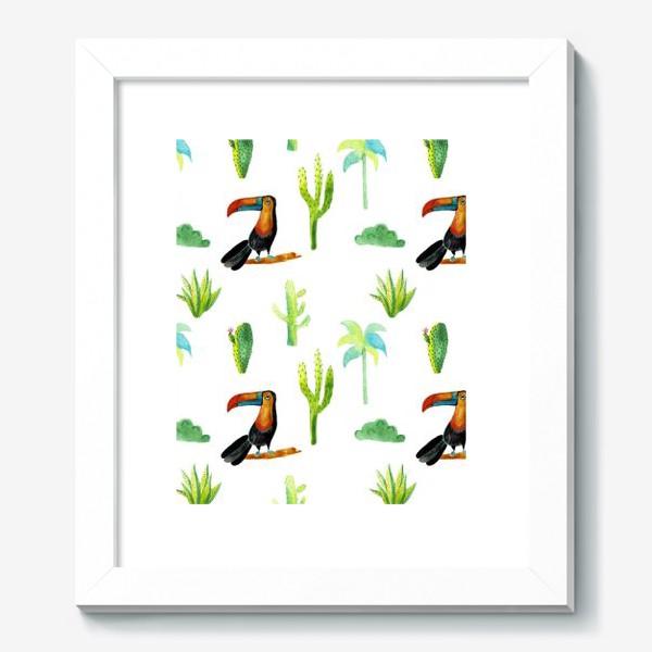 Картина «Джунгли и тукан»