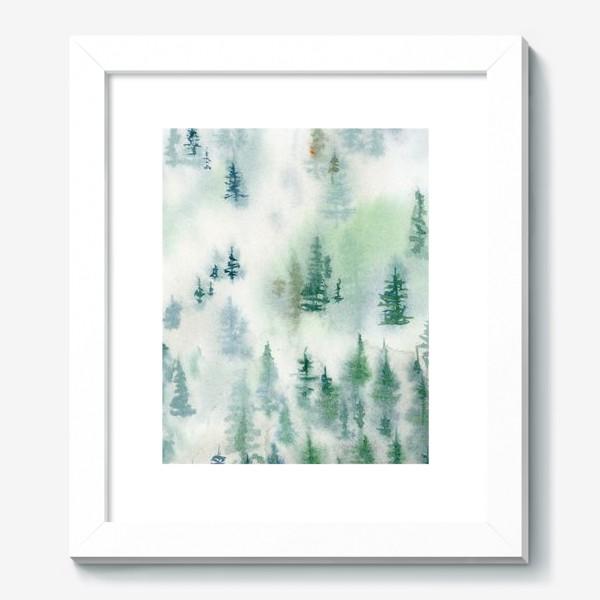 Картина «Северный лес»